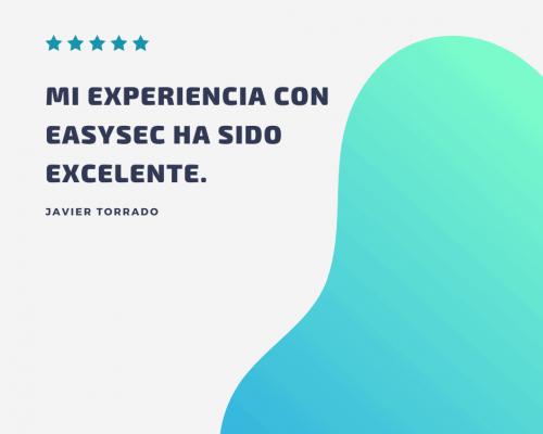 Opiniones de clientes EASYSEC
